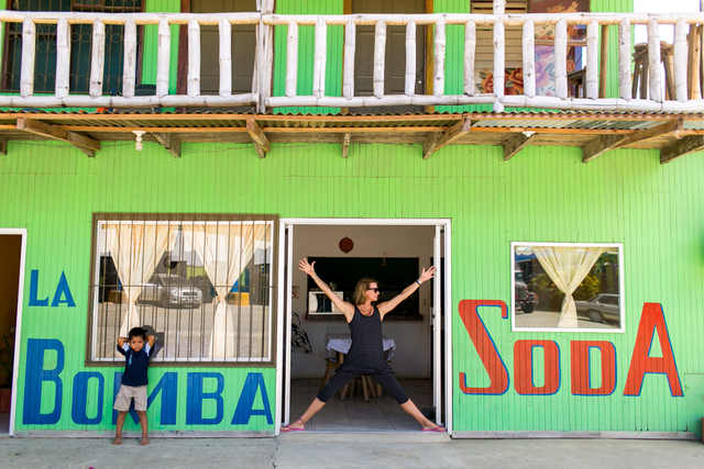 Puerto Jimenez Blue Osa Travel Beach Town Costa Rica