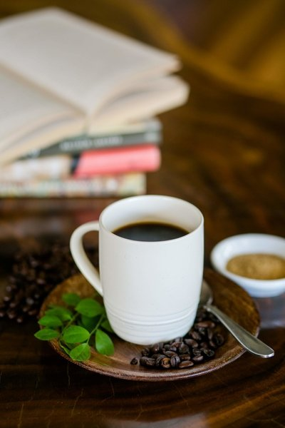 relax and enjoy a cup of coffee