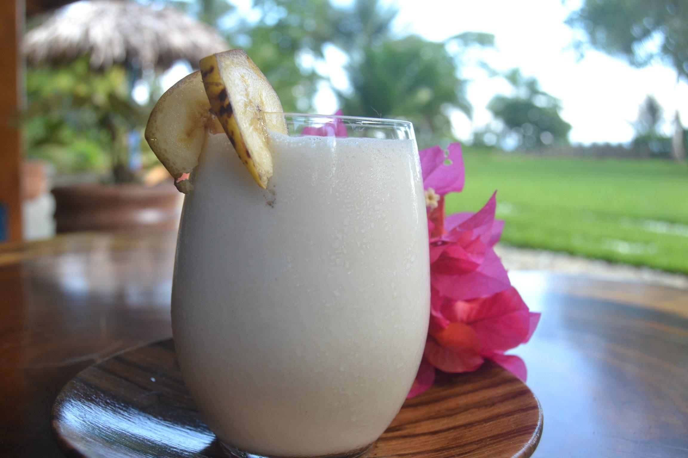 Blue Osa's Signature Banana Soy Smoothie Recipe