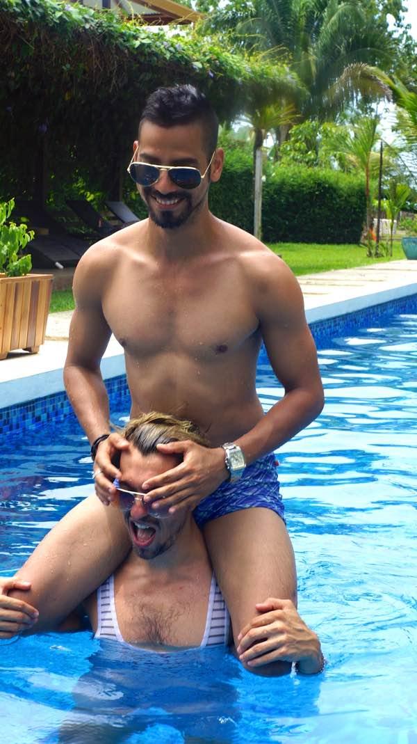Destination wedding in costa rica for gay men