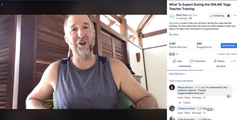 Get To Know Yogi Aaron - Yoga teacher of the Online Yoga Teacher Training