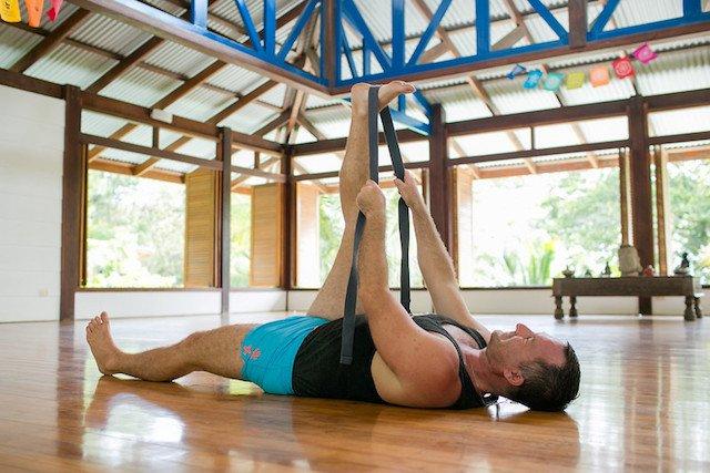 Tight Hamstring Stretch with Yogi Aaron