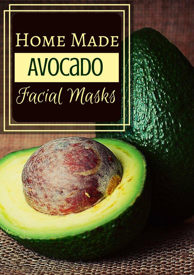 Home Made Avocado Facial Mask