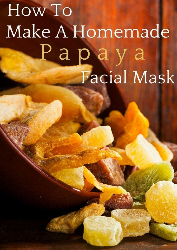 How To Make A Homemade Facial Mask