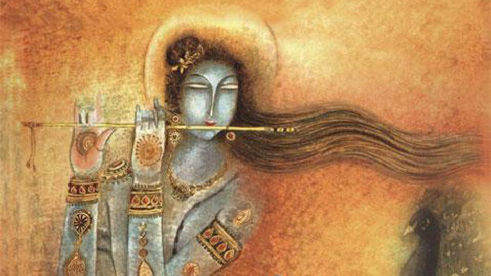 Hindu gods || Lord Kirshna flute player