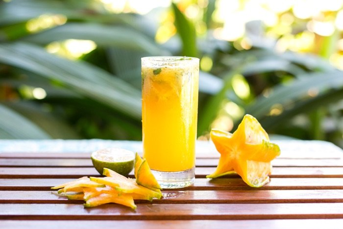 Starfruit Juice at Blue Osa