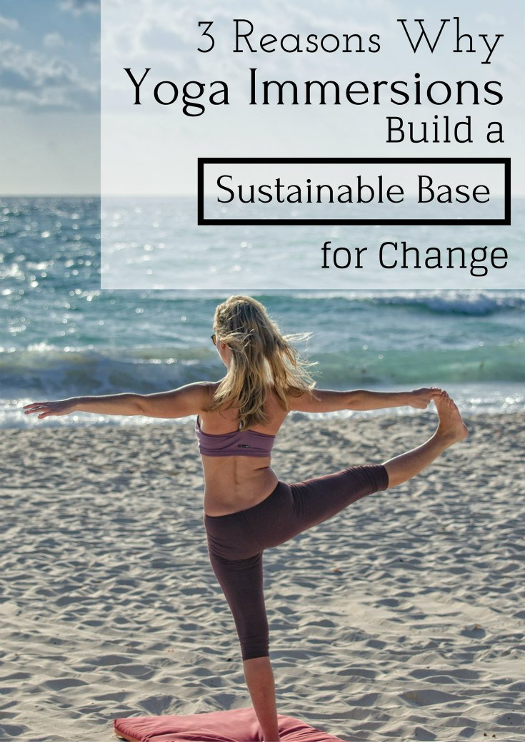 Three Reasons Build a Sustainable Base for Change
