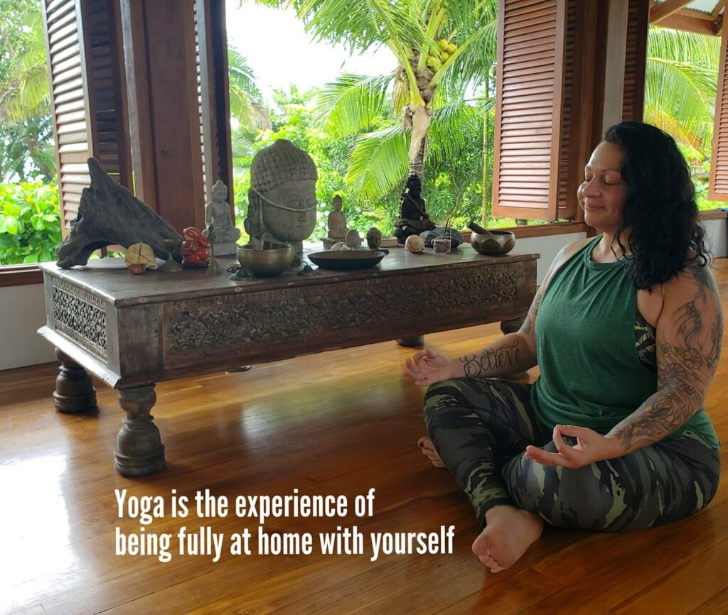 VaniDevi - how yoga saved my life from PTSD and gave me hope