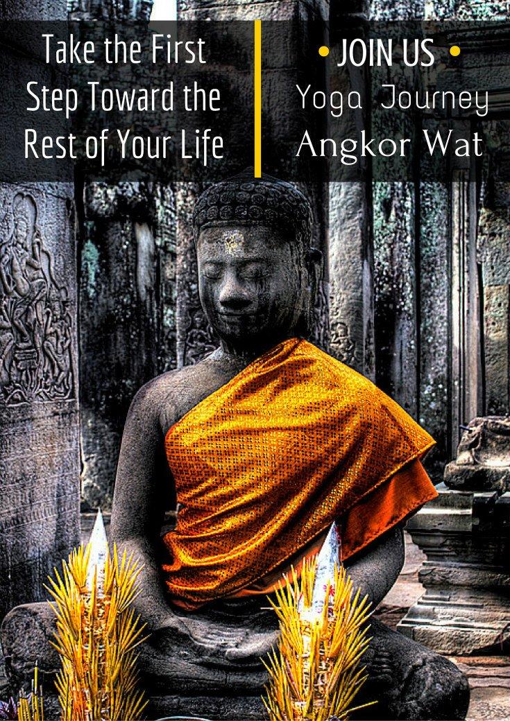 Yoga Journey Angkor Wat