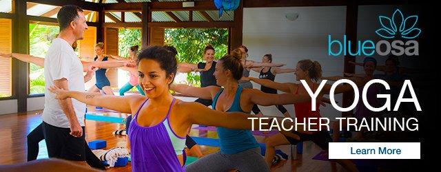 Yoga-Training at Blue Osa