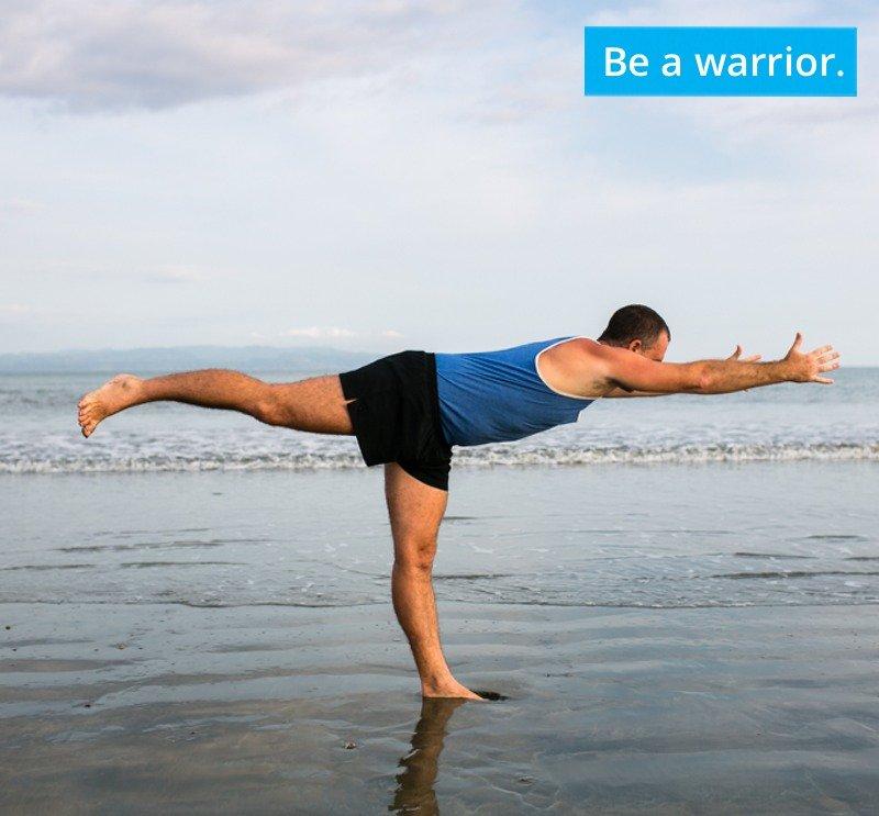 Be fierce like a warrior