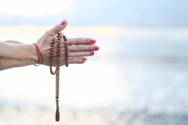 female empower and yoga  meditation