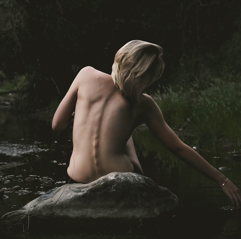 raw and naked in nature || Blue Osa Yoga Retreat