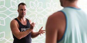 Yogi Aaron teaching classes