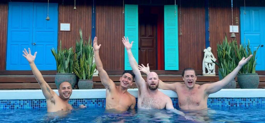 mens yoga retreat | costa rica | blue osa