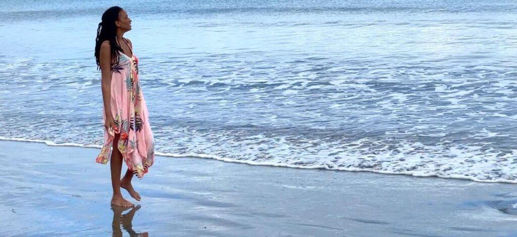 individual private yoga beach retreat